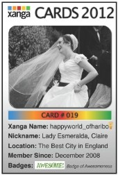 Visit happyworld_ofharibo's Xanga Site!
